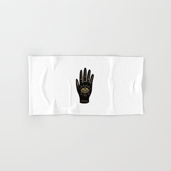 Evil Eye Hand Hand & Bath Towel