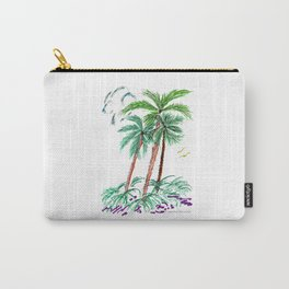 """""""Triplet Palms"""" Carry-All Pouch"""