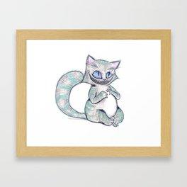 Chesire Cat Framed Art Print