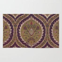 Antique Floral Textile Rug