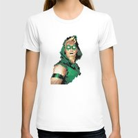 green arrow T-shirts featuring Green Arrow by Andrew Markovits