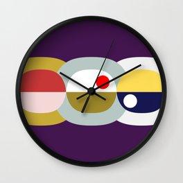 modern abstract VII Wall Clock