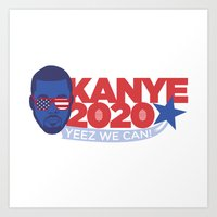 Yes We Kan 2020 Art Print