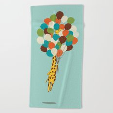 Floating Away Beach Towel