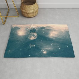 One Day I Fell from My Moon Cottage... Rug