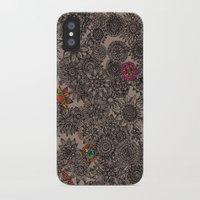 flower pattern iPhone & iPod Cases featuring Flower Pattern by Aubree Eisenwinter