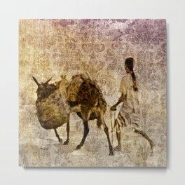 island tapestry Metal Print