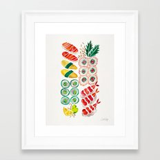 Sushi Collection Framed Art Print