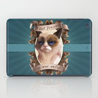 grumpy iPad Cases featuring Grumpy by TsaoShin