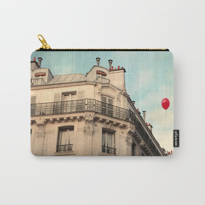 Balloon Rouge Carry-All Pouch