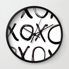xo  Wall Clock