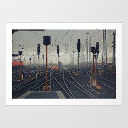 trainyard Art Print