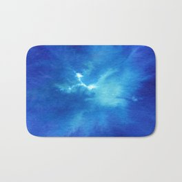 Blue Powder Bath Mat