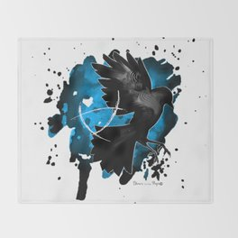 The Raven Cycle / Boys - Bookish art Throw Blanket