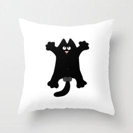 Cat Throw Pillow