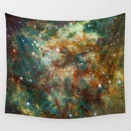 Part of the Tarantula Nebula Wall Tapestry