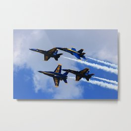 US Navy Blue Angels Metal Print