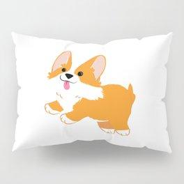 Funny Corgi Dog Pillow Sham