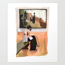 Writing About Art Art Print