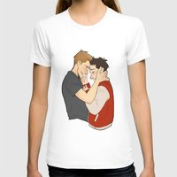 destiel T-shirts featuring Destiel3 by Linneart
