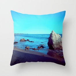 Malibu Beach Life  Throw Pillow