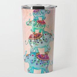 LUCKY ELEPHANTS Travel Mug