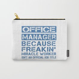 OFFICE MANAGER Carry-All Pouch