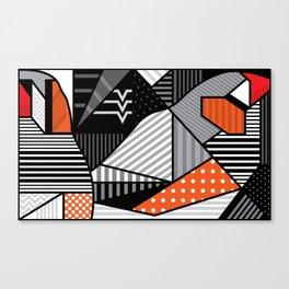 zebra finches Canvas Print
