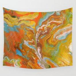 Orange Fizz Wall Tapestry