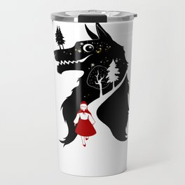 Little Red Ridding Hood Travel Mug