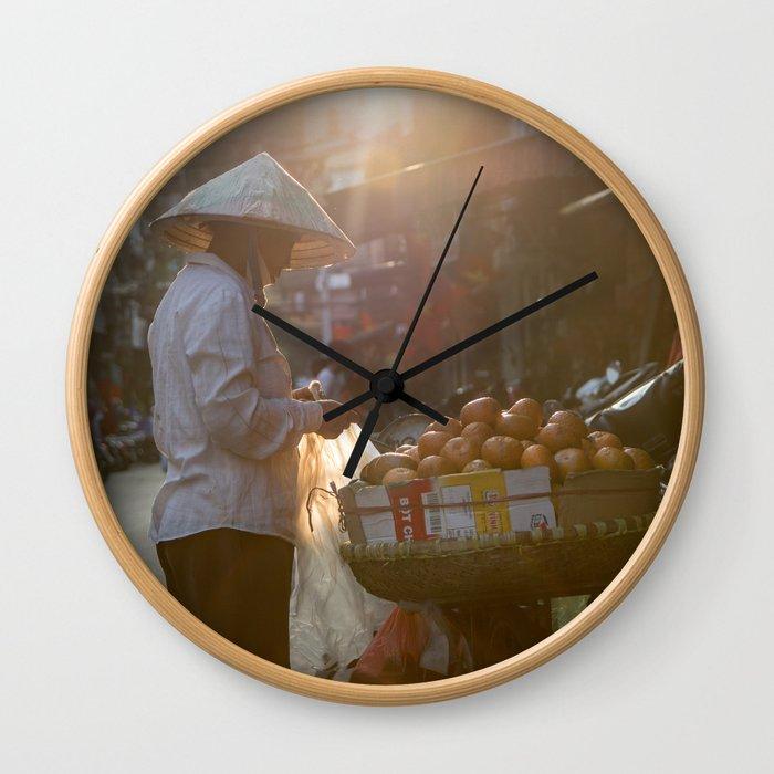 Vietnam Streets Wall Clock