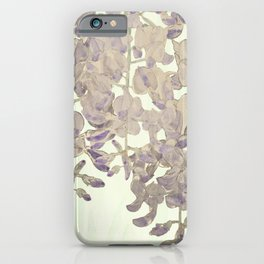 Wisteria - a thing of beauty is a joy forever iPhone Case