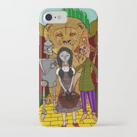 oz iPhone & iPod Cases featuring Oz by nu boniglio