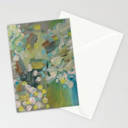 Mapping - Original Fine Art Print by Cariña Booyens.  Stationery Cards