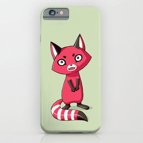 Shy Raccoon iPhone & iPod Case