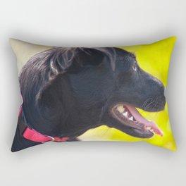 Dogs laughed Rectangular Pillow