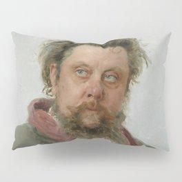 Modest Petrovich Mussorgsky (1839 – 1881) by Ilya Repin in 1881 Pillow Sham