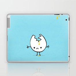 Mr Egg is now sad Laptop & iPad Skin