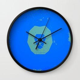 Vector lion print Wall Clock