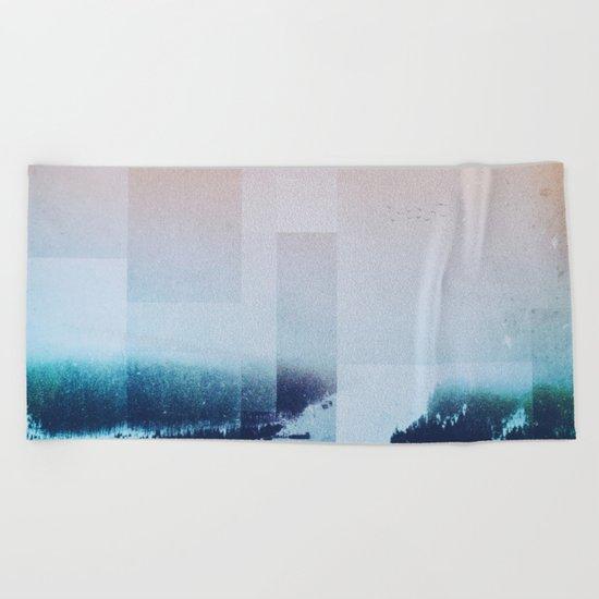 Fractions A85 Beach Towel
