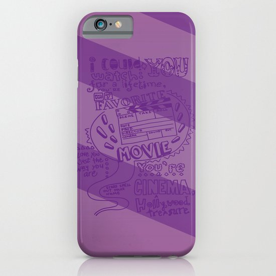 CINEMA iPhone & iPod Case