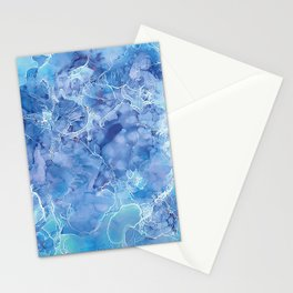 Ice Abstraction Stationery Cards