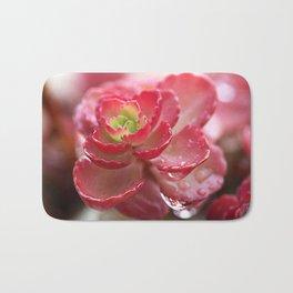 Succulent Flower Bath Mat
