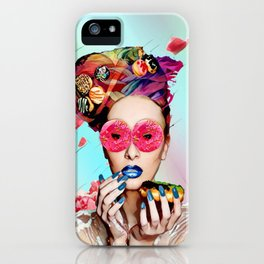 Candy Lady iPhone Case