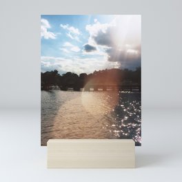 Lakefront Mini Art Print