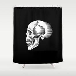 ye olde skull Shower Curtain