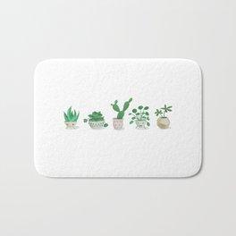 Little green fellows Bath Mat