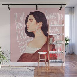 BLOW YOUR MIND Wall Mural