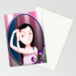 Le Miroir de la Jeune Stationery Cards