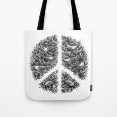 Peace Naturalis Tote Bag